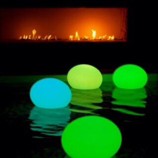 --> Glow sticks + balloons = floating lights.