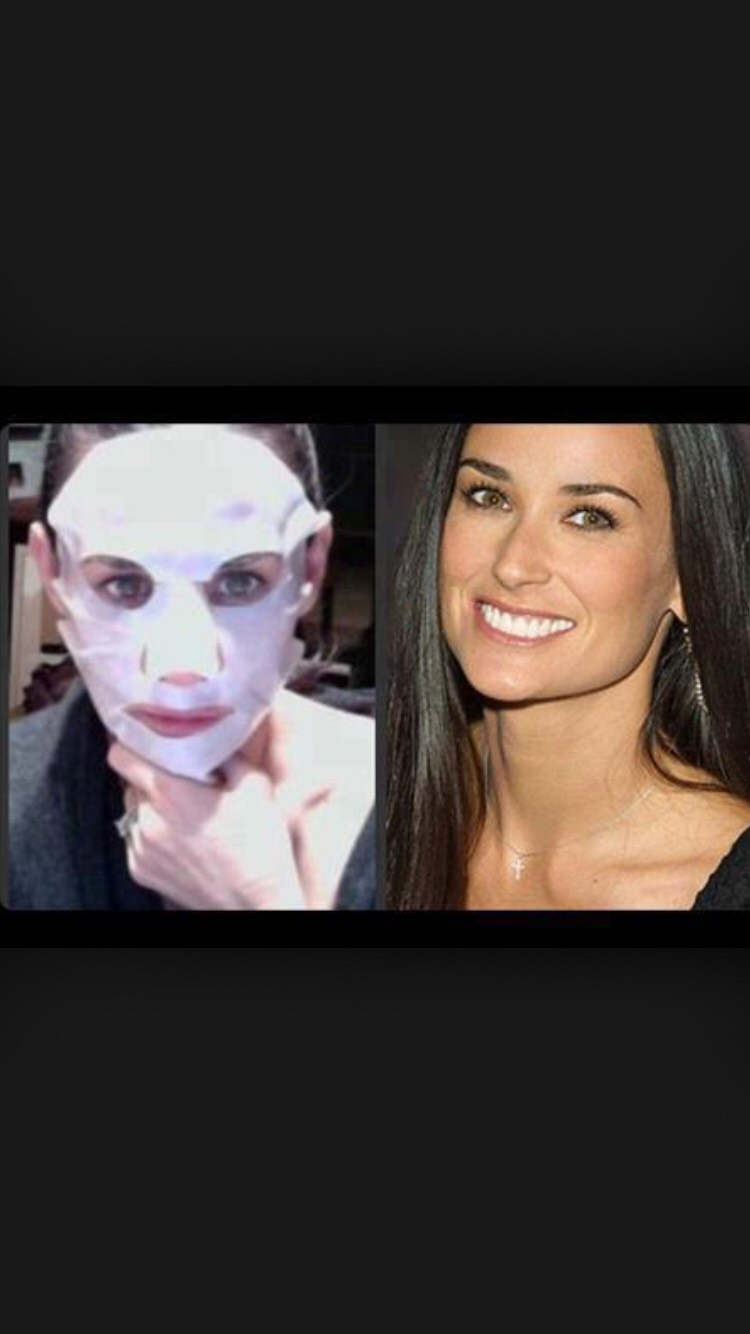 Even Demi Moore uses our facial exfoliating peel!! You can to!! Visit my website!
