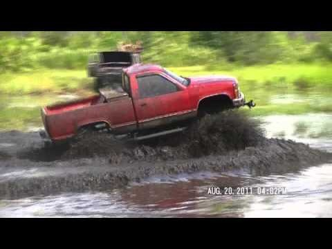 Mudding. You cannot be afraid to go and get dirty.