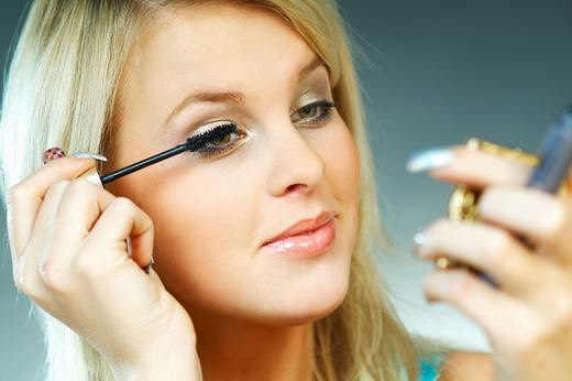 Now it's time for makeup for teens concealer to hide blemishes, tinted moisturizer with SPF or powder , curl lashes, and a coat of clear or black mascara,and a slick of lipgloss for a natural look.