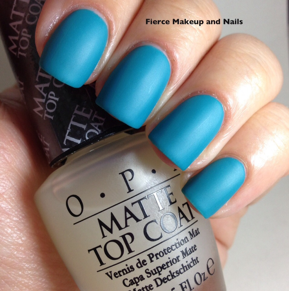 I've tested matte top coats and enjoyed it a lot! I recommend it! :)