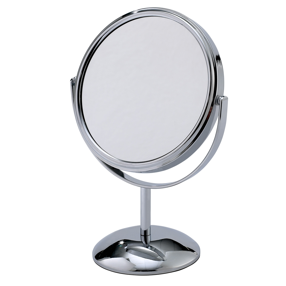 DOcheck your makeup in a magnifying mirror. What you can't see, you can't fix; for example, makeup settling into the fine lines around your eye or perhaps into the folds around your mouth. Applying a little powder directly over the line, and then blending upwards and out can keep everything in place, but you have to see it up close to do it right. Any mirror of 4X magnification or greater (depending on your eyesight, of course) will do the trick, and these mirrors are widely available, at most drugstores, Bed Bath & Beyond, and beauty supply stores.