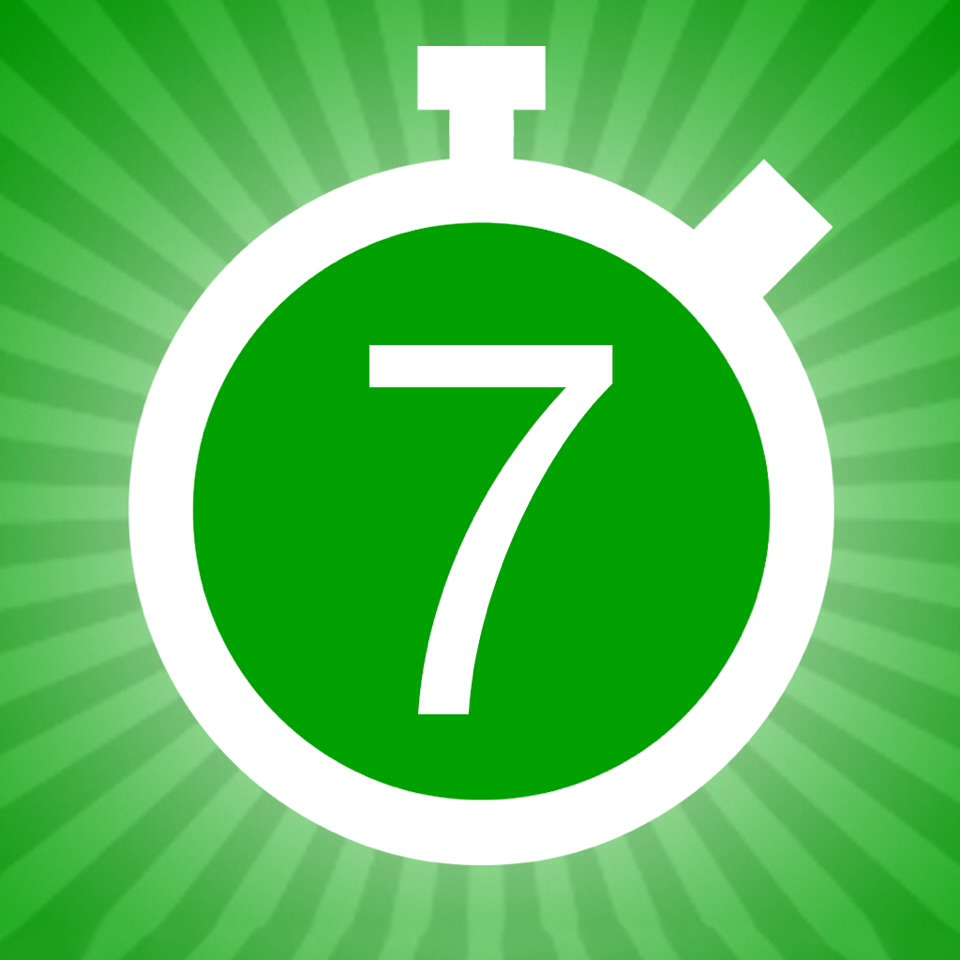 7 min workout is a great app and it reminds you to workout every day.