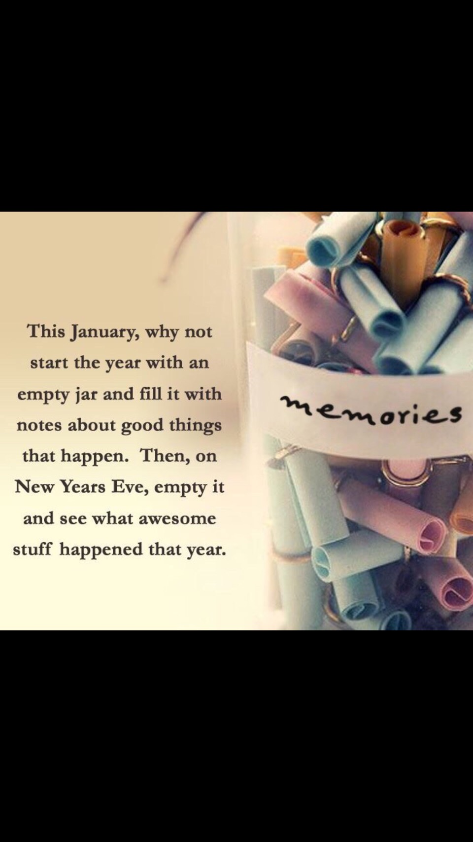 Open it on New Year's Eve and read all about your year!