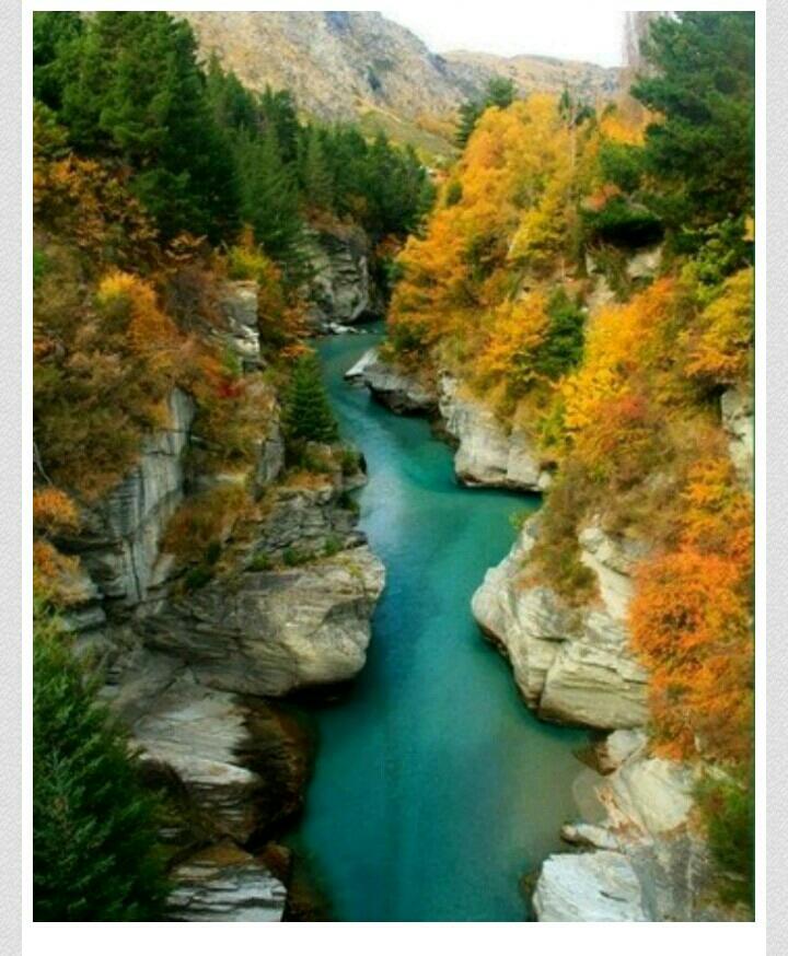 Shotover River , New Zealand