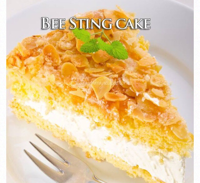 german bee sting cake musely 4478