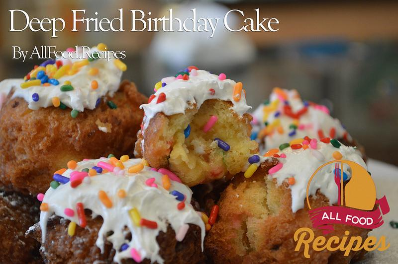 Recipe and image credit: http://www.lyndaskitchen.com/recipes/deep-fried-birthday-cake/