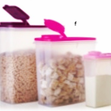 The best way to keep bugs out of your cereal and keep your cereal fresh is to invest in a good cereal storage container, and you're in luck because its on sale! For only $36 you can get yours from Tupperware and it will be delivered to your home!  Shop now www.my2.tuppereware.com/nancyserrano