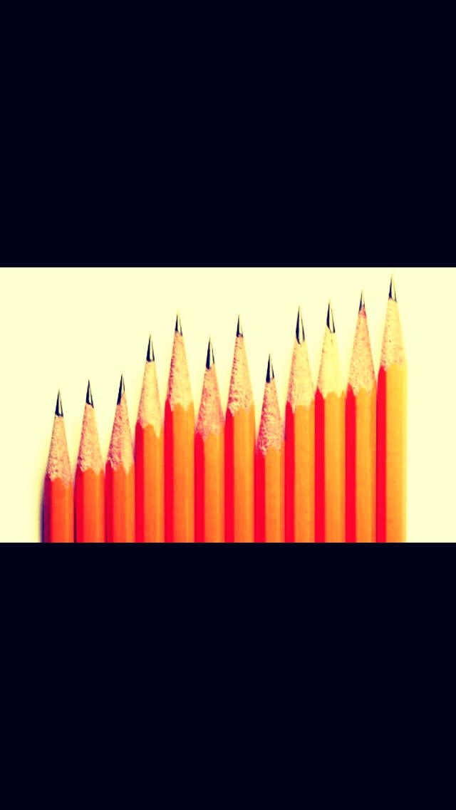 Use pencils as pens would melt into your hair...