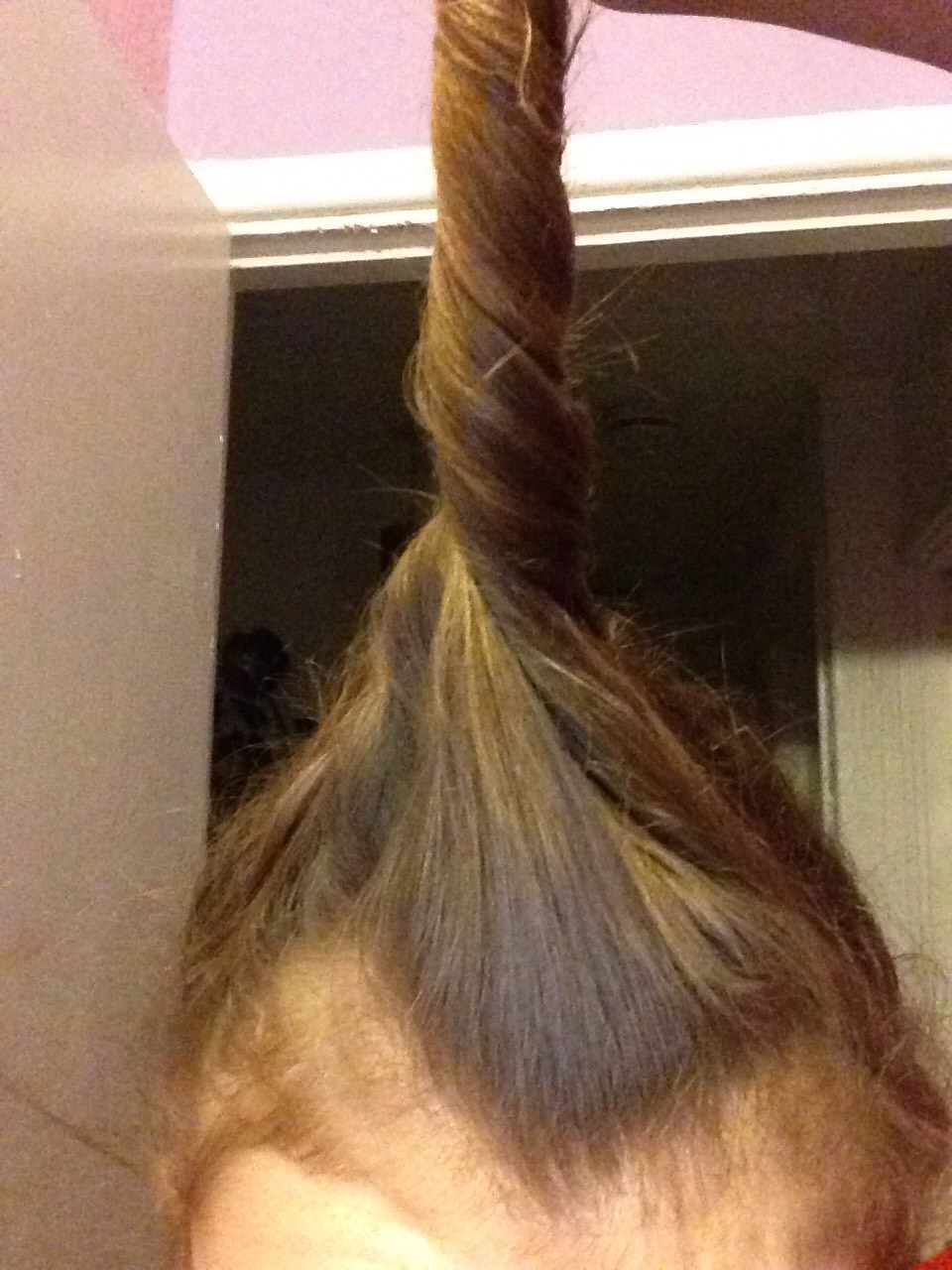 Twirl your hair up