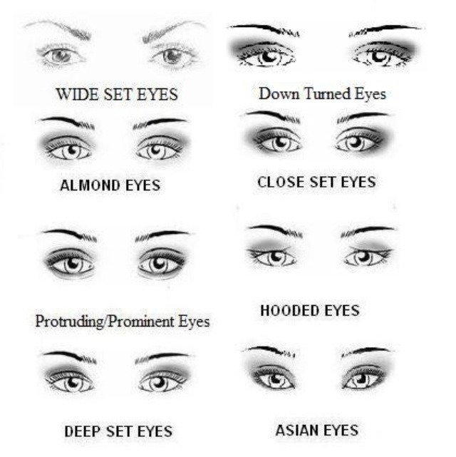 What Makeup Will Look Best With Your Eye Shape By Emily Clay Musely