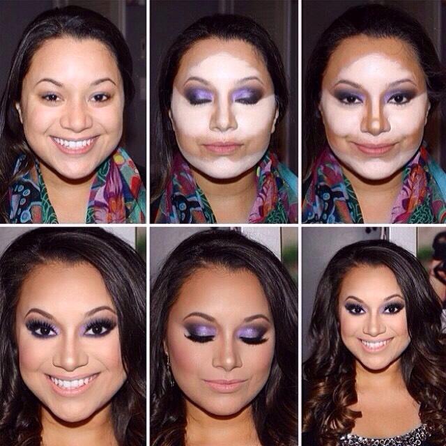 Уроки макияжа Как сделать сияющий