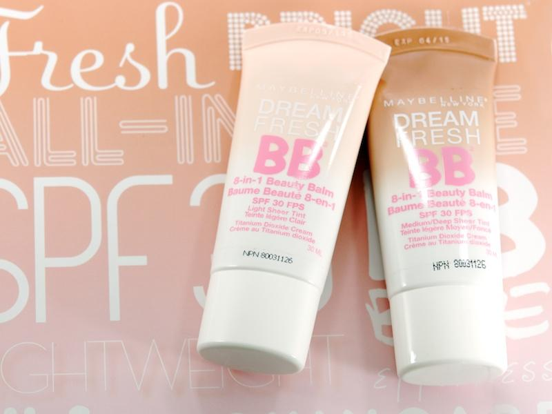 "Maybelline New York Dream Fresh BB Cream, $9 "" A total skin perfecter..blurs imperfections..makes my skin look bright, smooth and radiant!"""