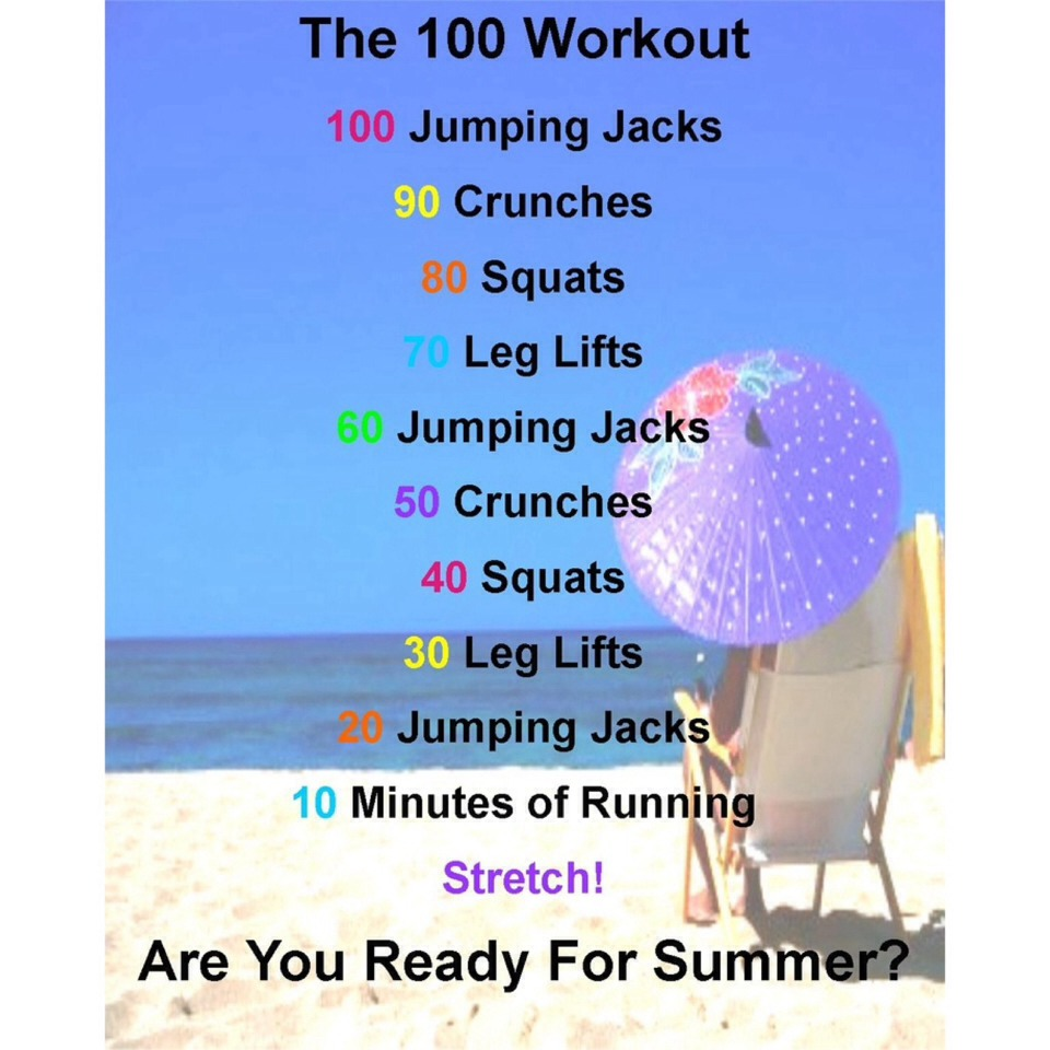 The Summer Body Workout You Can Do In Four Weeks The Summer Body Workout You Can Do In Four Weeks new picture