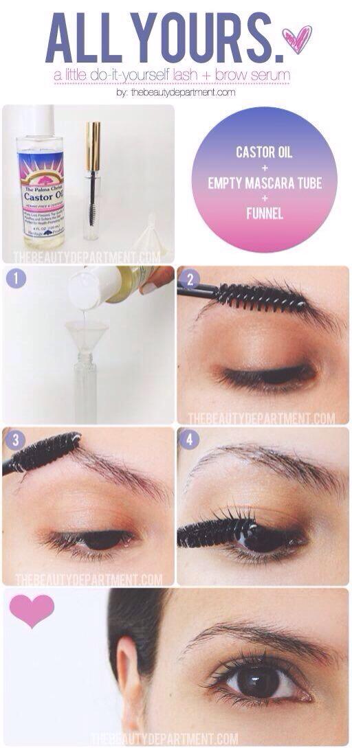 Diy Eyelash Eyebrow Serum By Frances Parga Musely