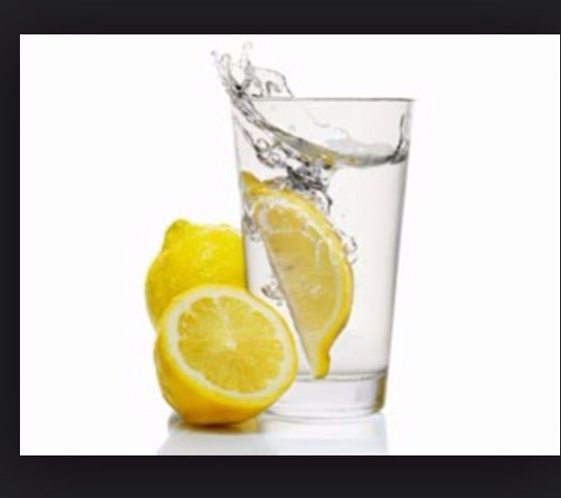 Drinking Water With Salt And Lemon