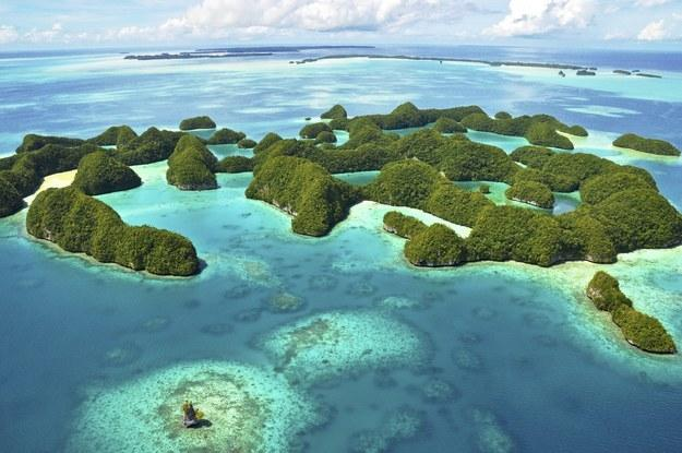 "4. Palau WHY GO IN 2016: Mostly because the country is killing it in the conservation department — which makes it insanely beautiful. ""It has as much to fear from rising sea levels and environmental degradation as any other Pacific nation, but it's tackling those fears head-on."