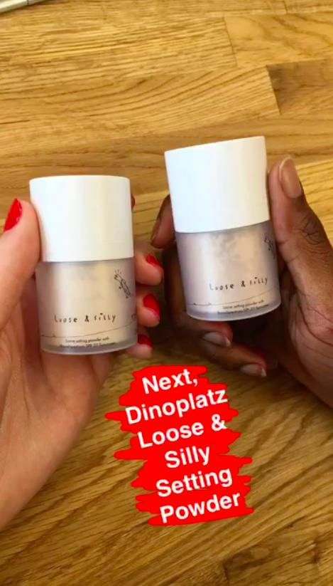 Dinoplatz Loose & Silly Setting Powder from the brand Too Cool For School
