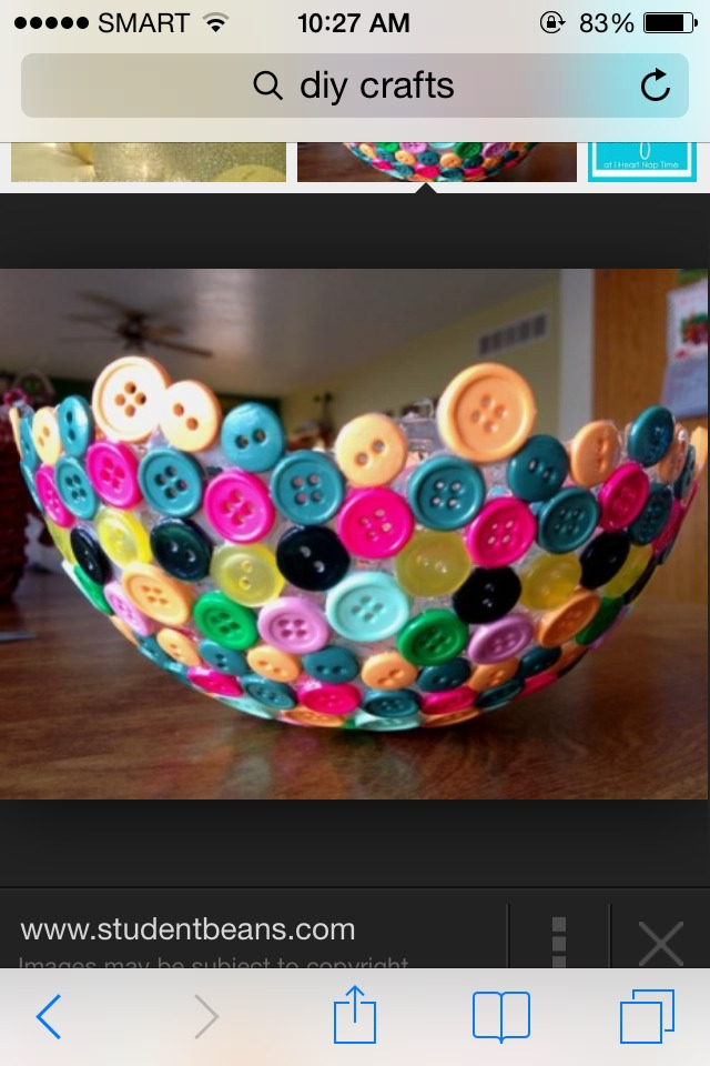 This is not my own photography but i can show and tell you how to make a Do It Yourself button bowl :) you can send me your own work and please leave a feedback and dont forget to like and save this . You can add or follow me too for more tips. Thank youu !! :3