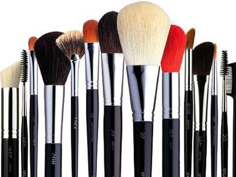 Clean your brushes once a week
