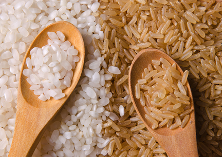 Brown rice has more nutrients than white rice, making it a perfect swap in your diet. It has much more fiber, so you won't need to eat as  much to feel full. Your body puts the calories from brown rice to better use, rather than storing them as fat.