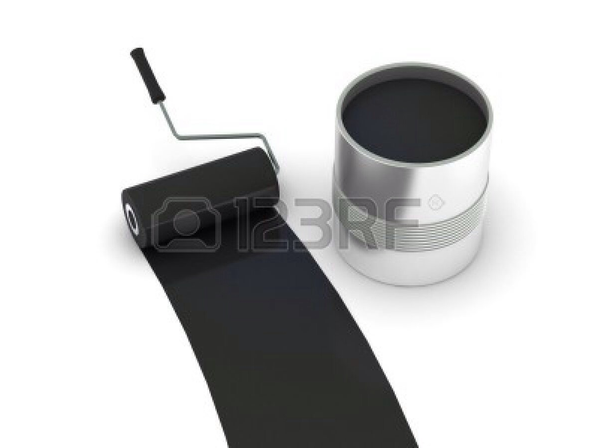 Use your black chalkboard paint and cover over the white with 1-3 coats (wait until the primer is fully dried)