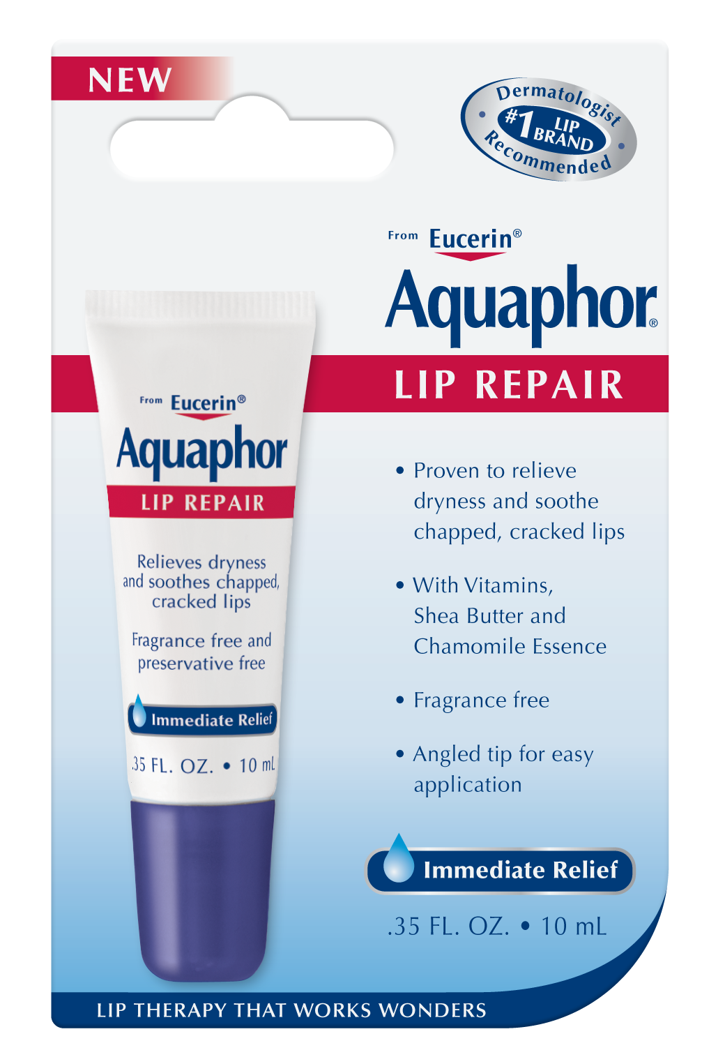 1. To prep lips, apply lip balm or use a cotton swab to coat lips with Aquaphor.  Let the moisturizer sit for 5 minutes before moving onto the next step. Hydrating the lips will help to loosen up any dead or dry skin, which you'll be removing in the next step.