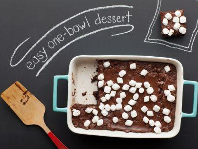 Customize these low-impact brownies with different combinations of your family's favorite toppings--and make everyone happy.