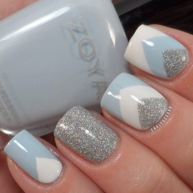 Sophisticated winter nails