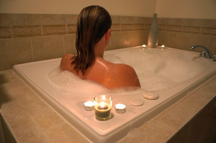 A warm bath (not hot) will help your body reach a temperature that's ideal for rest.