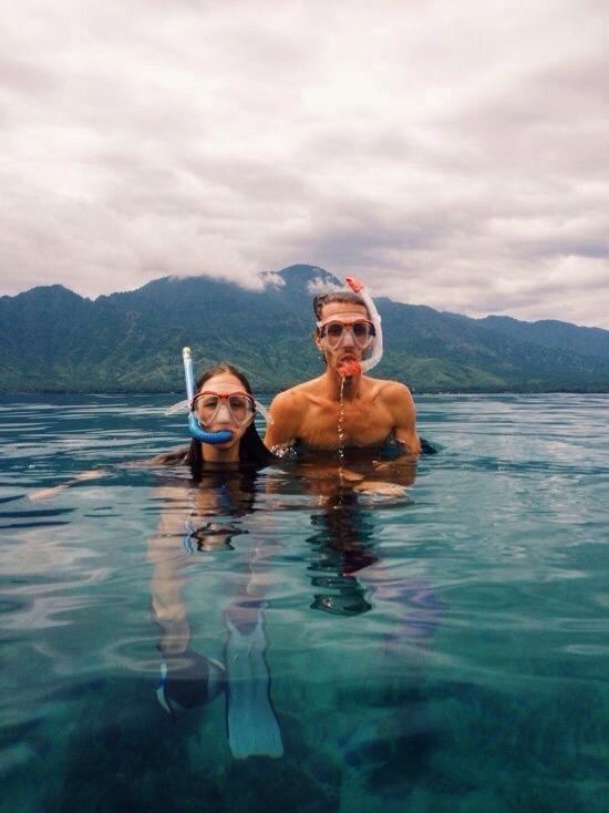 Go swimming or scuba diving