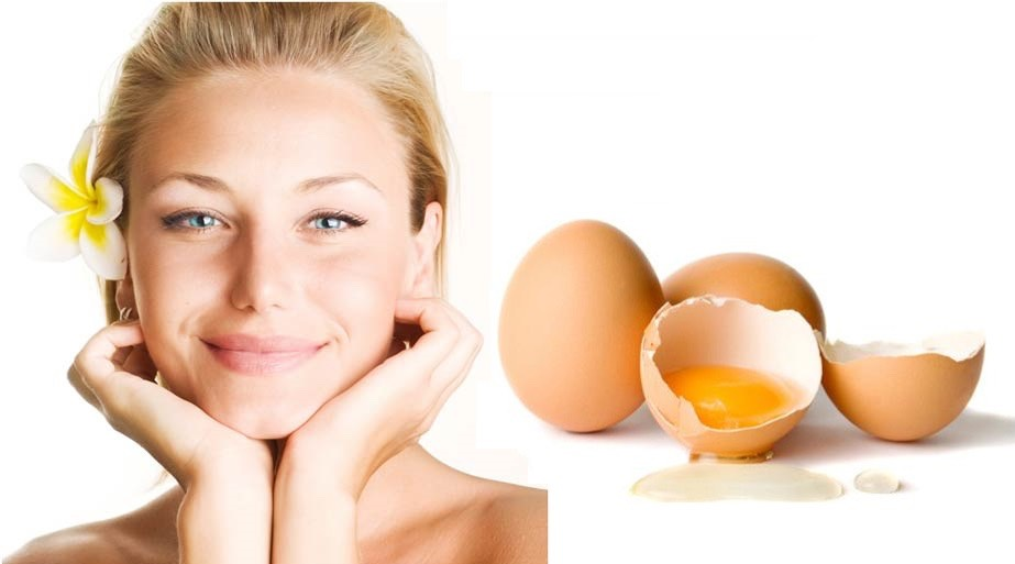 Crack the egg and separate the egg yolk from the white egg when you finish. Wash your hands with soup and water Then pick up a small brush that you dont use and pure it on to your face Leave it for 30 minutes and you wil see the change of your face