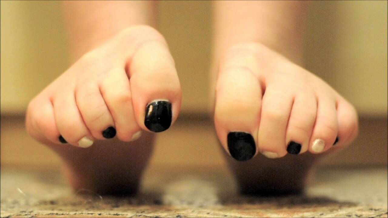 Curling your toes release tension and helps relax you
