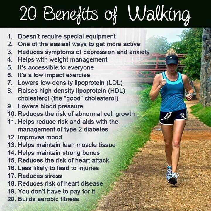 benifits of walking Benefits of walking - are you one of those who spend thousands on a premium gym membership only to later quit due to your busy schedule.