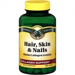 Not only does it help with hair but it helps with your skin and nails 💅