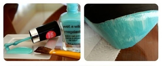 Fourth: get a color of polish you'd like to paint on your shoes.