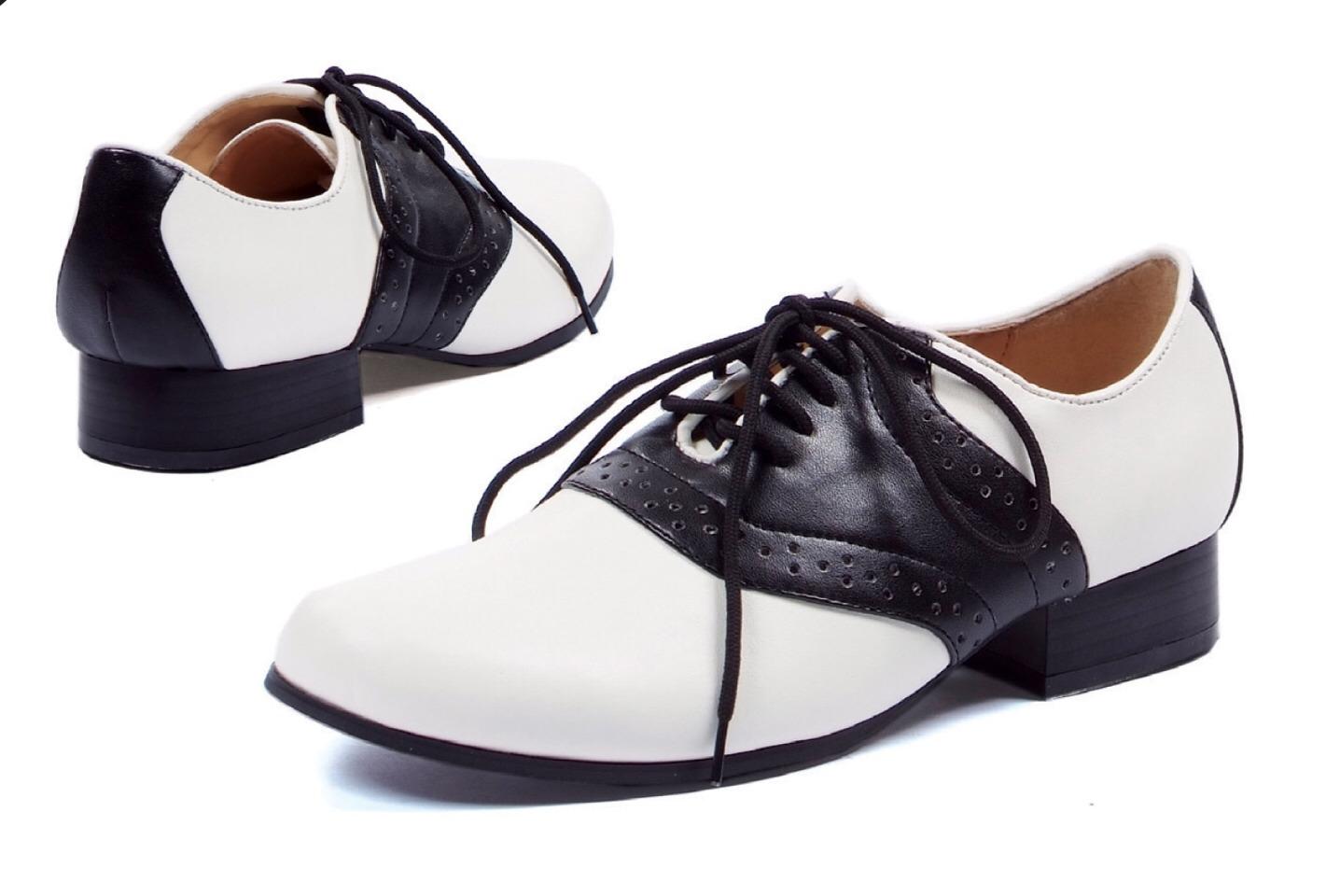 Saddle shoes!