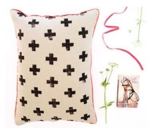 Make this cute pillow with easy steps and simple materials :) You will need:  A potato (weird, I know!) Fabric paint Iron and two different (or the same) types of fabric