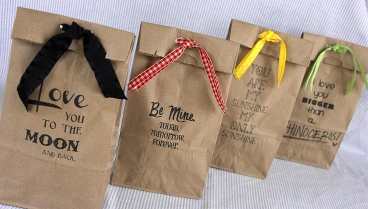 How To Make Adorable Printed On Gift Bags     These would be great for teacher gifts, Back to School bags for students, birthday bags, or party favor bags! The possibilities are limitless!!! Enjoy creating!