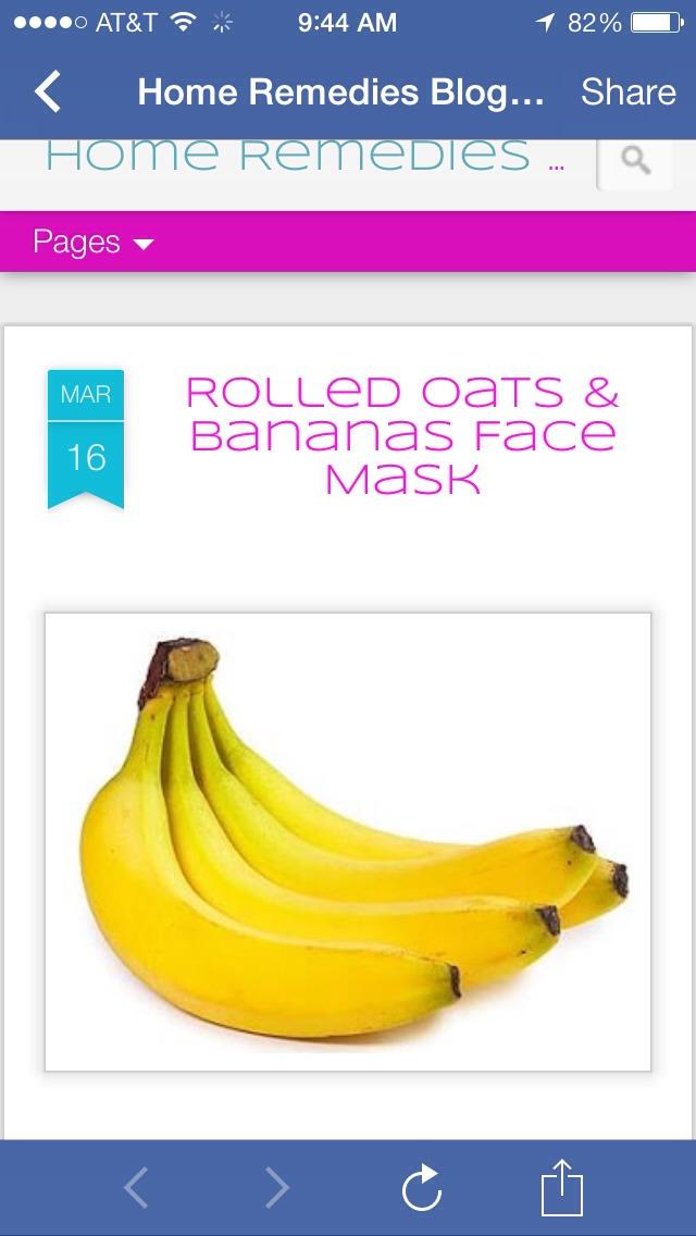 Ingedients:  1 ripe banana 3 tsp rolled oats 2 tsp honey 2 tsp milk