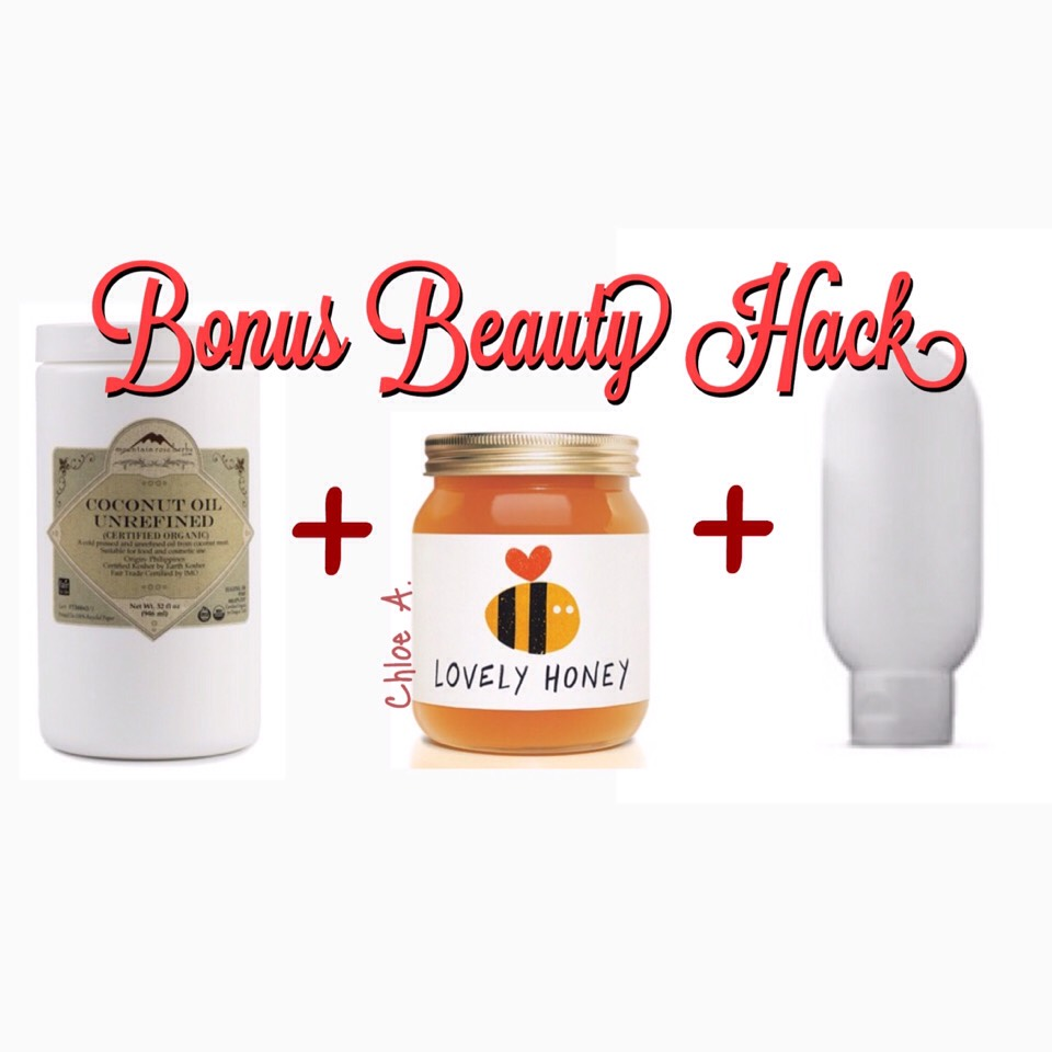 Mix a palm-full of organic coconut oil, raw honey, & your favorite ALL-NATURAL conditioner together. Massage into your hair from root to tip, & put on a plastic cap.Let it sit for a minimum of 15mins(cankeep it inhair for as long as 3 hours). Rinse it out, style your hair as you normally would, & you'll see that your hair will be nourished, feel soft, & be full of luster. I do this at least once every 2 weeks.