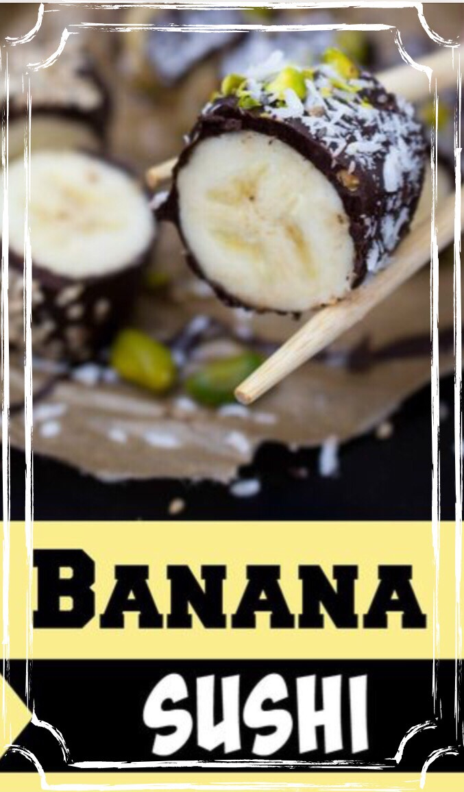 With back-to-school lurking just around the corner,you're probably on the lookout for fun new ideas forkid-friendly recipesandafter-school snacks. If your kids are over the whole peanut butter and jelly routine, then you're definitely going to want to add banana sushi to the lunch rotation.