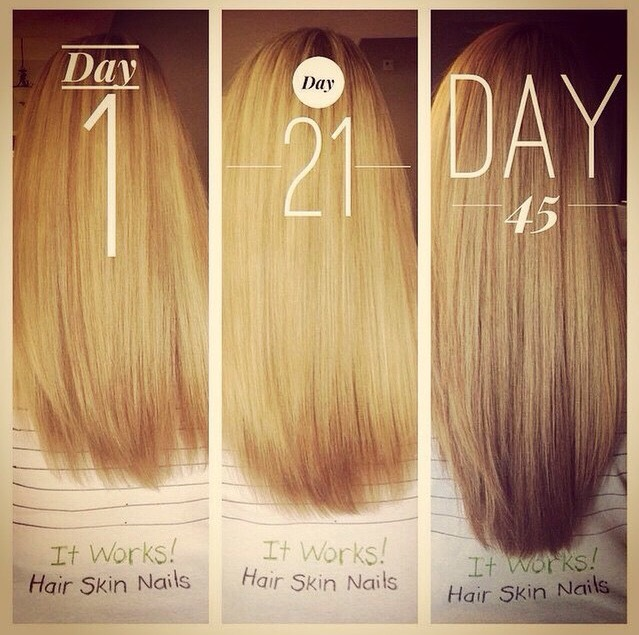 Get Longer Stronger And Shinier Hair By Courtney Danae Musely