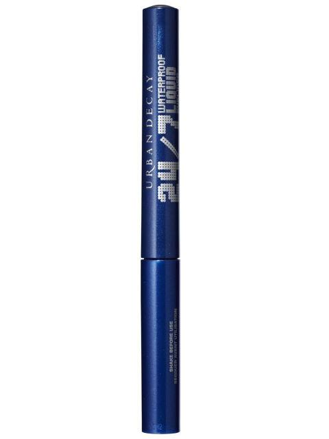 "Urban Decay 24/7 Waterproof Liquid Eyeliner in Radium, $19 ""Great eyeliner, long lasting and waterproof. Comes with range of shimmery and matte shades. Great angled brush perfect for cat eye."""