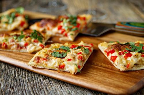 Bread/pita bread pizza!!   Next page for recipe--------->