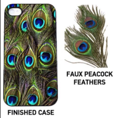 19. Peacock phone case
