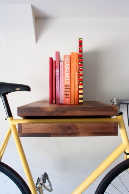 Bike Storage  Books and bikes in one storage unit? Perfection!