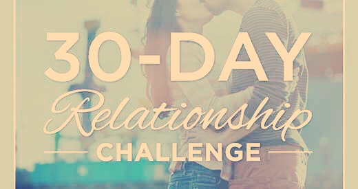 This challenge could boost any relationship healthy or not😃