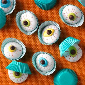 Eyeball Cookies recipe!
