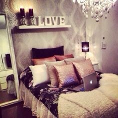 Have a nice warm colour to your room😜